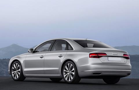 Audi A8 big-3
