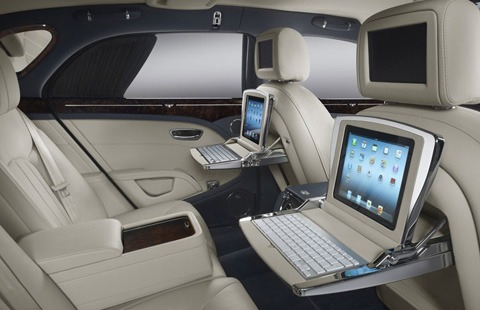 Bentley Mulsanne big-4
