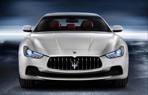 Maserati Ghibli big-3