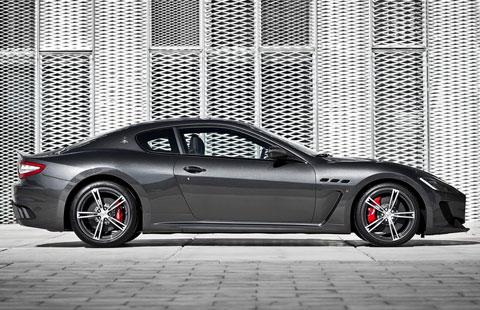 Rent Maserati Granturismo Mc Stradale