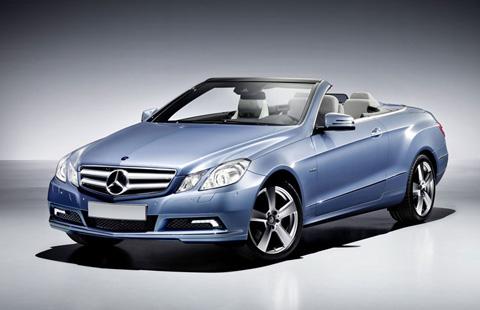Mercedes-Benz E-Class Cabrio big-1