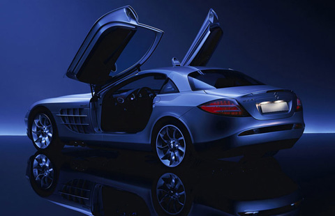 Mercedes-Benz SLR AMG big-3