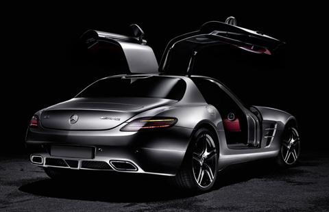 Mercedes-Benz SLS AMG big-3