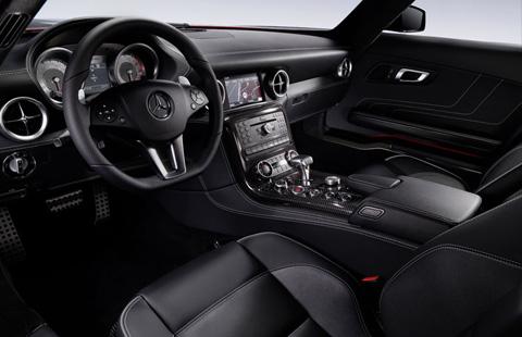 Mercedes-Benz SLS AMG big-4