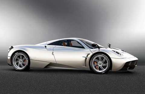 Rent Pagani Huayra in Europe, Italy, French Riviera, Germany