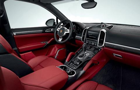 Porsche Cayenne big-4
