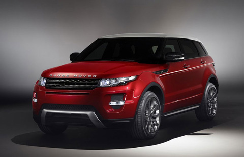 rent range rover evoque in europe italy french riviera germany. Black Bedroom Furniture Sets. Home Design Ideas