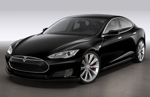 Tesla Model S P100D Full Electric big-1