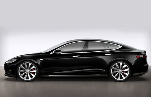 Tesla Model S P100D Full Electric big-2